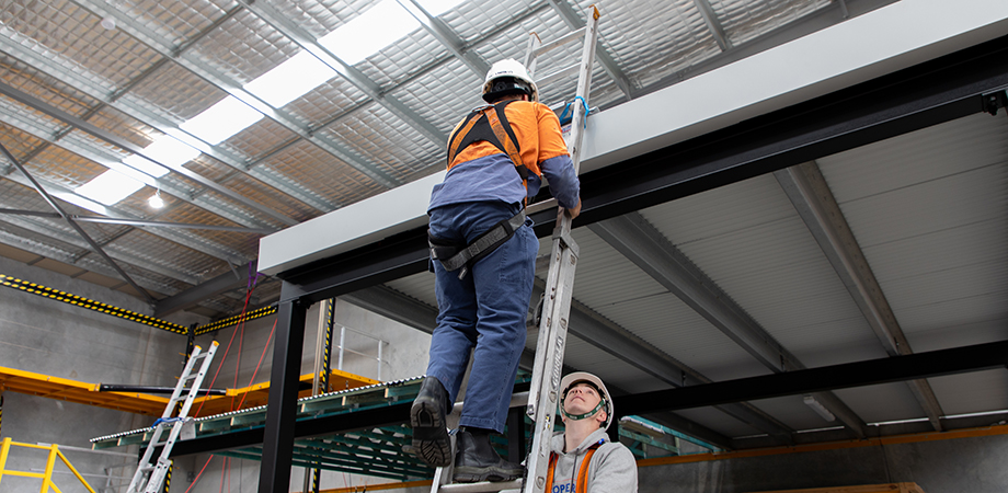 Refresher training takes into account many aspects of working safely at heights.