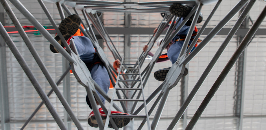 Practice safe working at heights procedures at our state of the art training facilities.