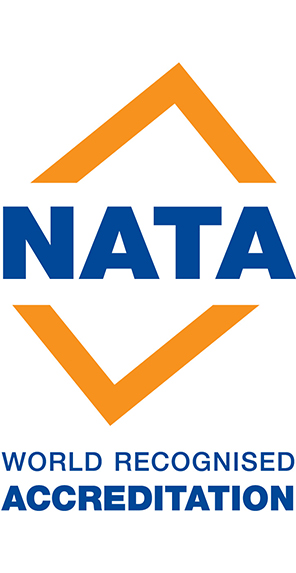We are a NATA accredited height safety body.