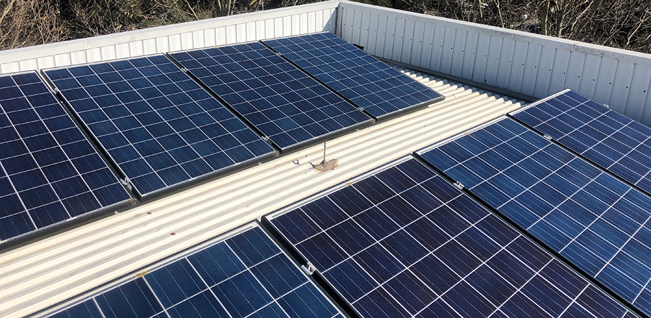 Installing solar panels can effect the ability of your height safety system to fully protect you.
