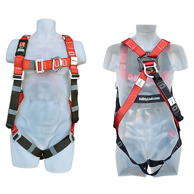 SafetyLink XtraLight full body fall protection harness